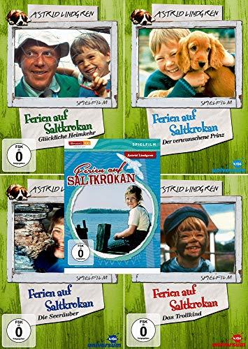 Astrid Lindgren Edition - Ferien auf Saltkrokan (Gesamte Spielfilm Edition) [5er DVD-Set] Keine Box