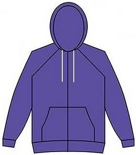 American Apparel Unisex Flex Zip Hooded Sweatshirt