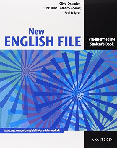 New english file. Pre-intermediate. Student's book-Workbook-My digital book-Entry checker. Per le Scuole superiori. Con CD-ROM. Con espansione online