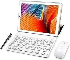 Tablet 10 Pulgadas YOTOPT, 4GB de RAM y 64 GB de Memoria 4G LTE Tableta Android 10.0 Certificado por Google GMS Dobles...