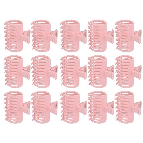 Ponacat Hair Rollers, Hot Hair Curlers With Clips for Pro Salon Hairdressing Curlers Or DIY Curly Hairstyle 15Pcs/Set