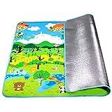 LGZOOT Kinder Krabbeldecke Umweltschutz Verdickung Feuchtigkeitsfest Gamepad Picknick-Matte Im Freien,180 * 200cm