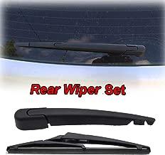 Xukey Rear Windshield Wiper Blade & Arm Set Fit For Renault Megane Kadjar Koleos For Peugeot 308 For Vauxhall Astra MK5(1 set)