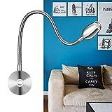 Lampe de lecture à LED,lampe de chevet & travail à puissance variable (dimmable)...