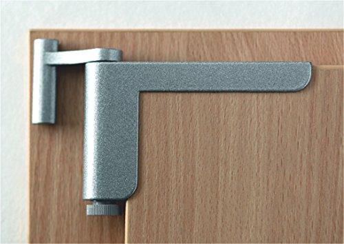 Clip-Close Patentierte Mini-Türschließer,Silber