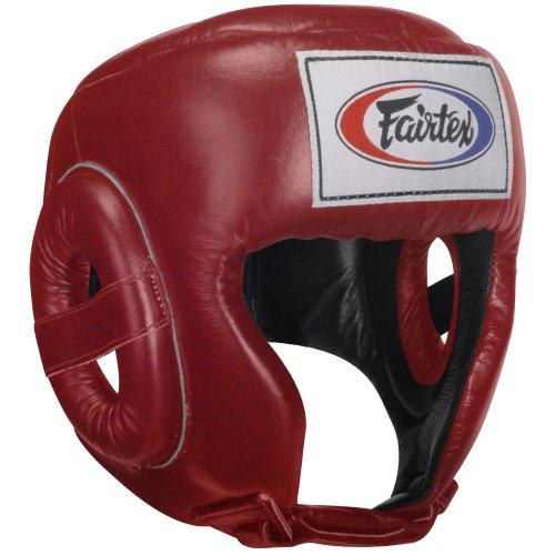 Fairtex concorrenza Casco, Rosso, Medium