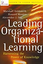 Leading Organizational Learnin