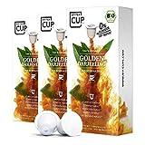 My Tea Cup - TEEKAPSELN GOLDEN DARJEELING 3 x 10 KAPSELN I BIO-SCHWARZTEE I 30 Kapseln für Nespresso®³-Kapselmaschinen I 100% industriell kompostierbare & nachhaltige Teekapseln – 0% Aluminium