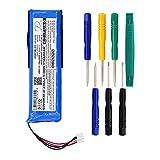 Cameron Sino - Batería de polímero de litio para GSP872693 P763098 03 JBL Flip 3 JBLFLIP3GRAY, batería de altavoz, solo para JBL Flip 3
