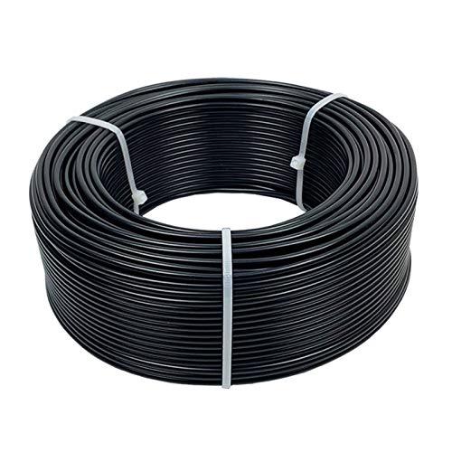 Lpgg-ZZ BV Câble De Fil De Cuivre Solide BV Câble Isolé en PVC 16 18 AWG Câble d'alimentation Électronique Cuivre Solide (Color : 20m, Size : 10 AWG 6mm2)