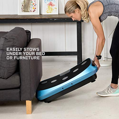 LifePro Rumblex 4D Vibration Plate Exercise Machine - Triple Motor Oscillation, Linear, Pulsation + 3D/4D Vibration Platform - Whole Body Vibration Machine for Home, Weight Loss & Shaping.