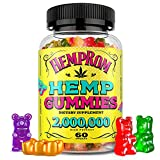 Hèmp Gummies 2000000 for Pain and Anxiety Relief, Premium Gummy Bears Improve Sleep, Reduce Stress, Calm Mood, Vegan and Organic