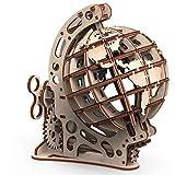 Mr. Playwood Puzzle 3D de madera con forma de globo terráqueo, juego de construcción de maqueta, juego de construcción de maquetas, para adultos y niños