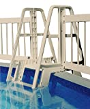 Blue Wave NE133L Pool Ladder/Step to Fence Connector Kit, Taupe