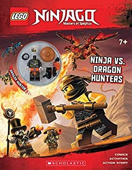 Ninja Vs Dragon Hunters  LEGO Ninjago  Activity Book with minifigure