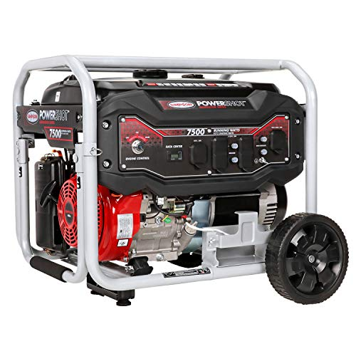 SIMPSON Cleaning SPG7593E  Portable Gas Generator with Electric Start 7500 Running Watts 9375 Starting watts 33% Generators on Outdoor Products Save Simpson to up
