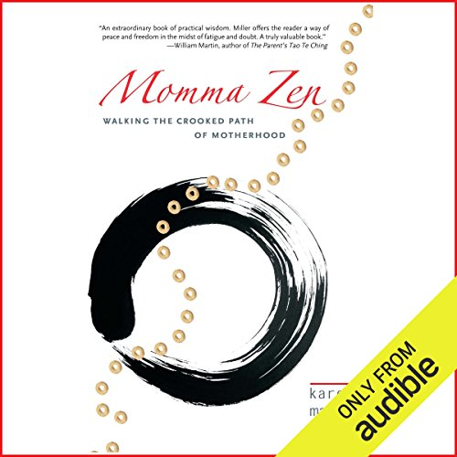 Momma Zen audiobook cover art