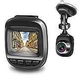 Actionpie Dash Cam 1080P Car DVR Dashboard Camera Full HD Recorder, G-Sensor, WDR, Loop Recording, (Black)