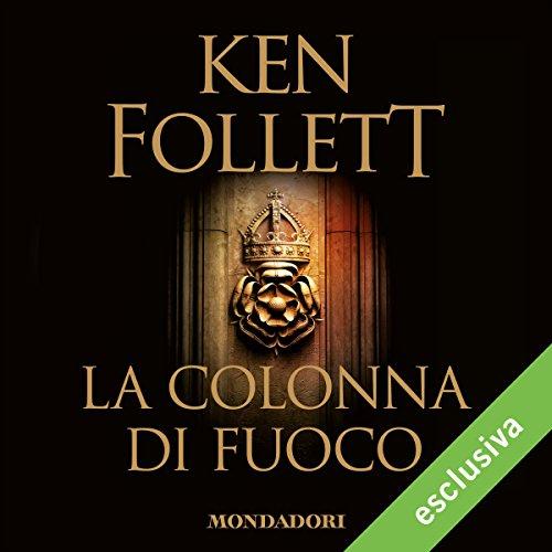 La colonna di fuoco audiobook cover art