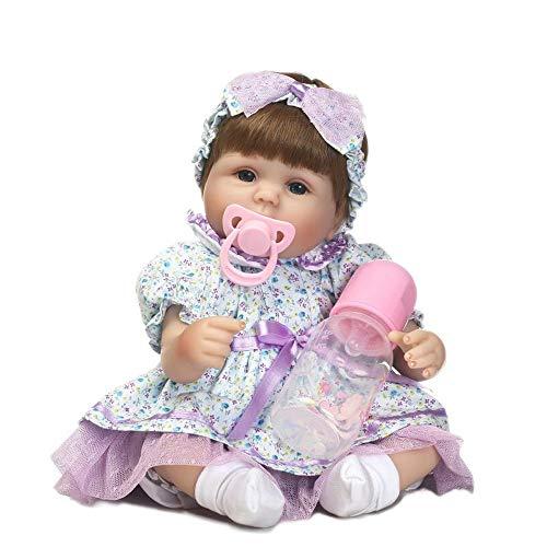 Tickas Wiedergeborenes Baby Doll Babypuppe Für Kinder Reborn Baby Doll Für Erwachsene Vinvl Babypuppe,Reborn Babypuppe Mädchen 17