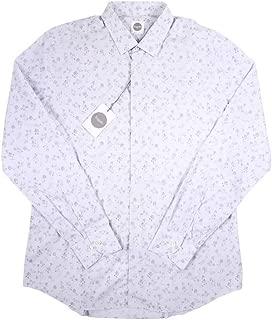 [43] [Bagutta] バグッタ 長袖シャツ メンズ グレー 灰色 大きいサイズ [13197] [並行輸入品]