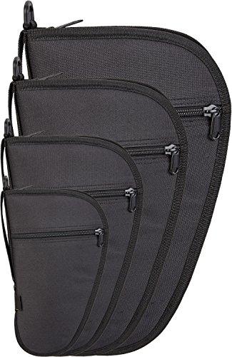 Black Snake Pistolentasche Waffentasche mit Außentasche in verschiedenen Größen, abschließbar