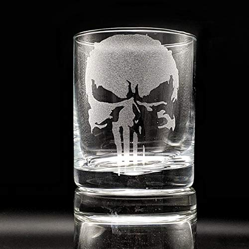 MARVEL SUPERHERO EMBLEMS Super beauty product restock quality top Engraved Whiskey Great Gift Glass Ide Special price