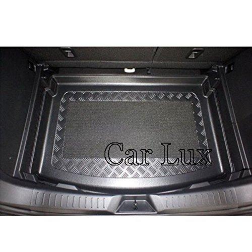 Car Lux AR04723 - Alfombra Cubeta Protector Cubre Maletero a Medida con Antideslizante para CX 3 CX-3 CX3