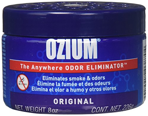 Ozium 806326 Large Gel 8Oz Smoke & Odors Eliminator