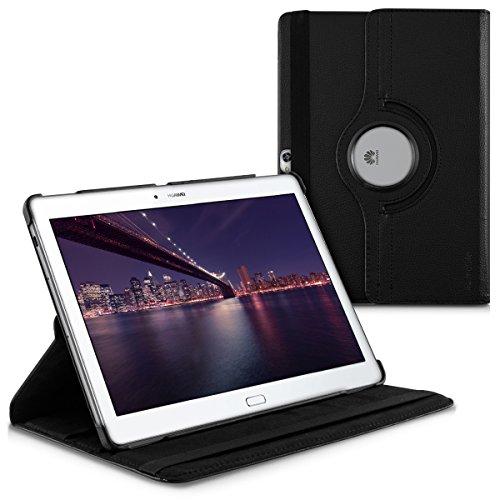 kwmobile Huawei MediaPad M2 10.0 Hülle - 360° Tablet Schutzhülle Cover Case für Huawei MediaPad M2 10.0 - Schwarz