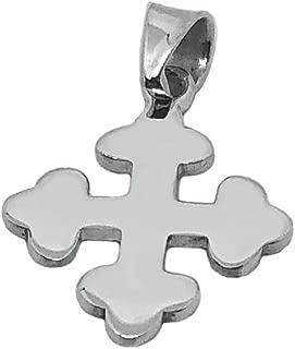 sterling silver greek cross