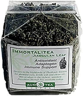 Jiaogulan Herbal Leaf Tea   Organic   Free Shipping   3.5oz/100g = 100 8oz Cups
