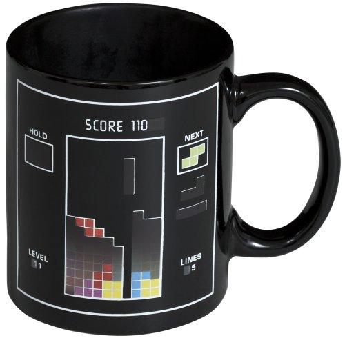 Grinscard Keramik Tasse mit Animiertem Thermoeffekt - Puzzle Game Design 0,3l - Motiv Kaffeetasse zum Verschenken