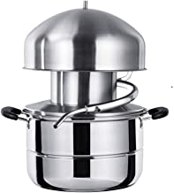 Stainless Steel Distiller For Water,Wine,Oil Alcohol Essential Oil Separator (10L)