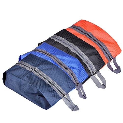 Mogokoyo wasserdicht Schuhbeutel Aufbewahrungstasche Organizer-Taschen aus leichtem und strapazierfähigem Nylon für Outdoor-Sport