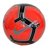 Nike Pitch Bright Crimson Pure Platinum Black 5 - Balón de fútbol
