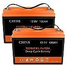 2個リン酸鉄リチウムディープサイクルリチウムイオン電池12V 100Ah、内蔵BMS。さまざまなタイプの電源バックアップおよびオフグリッドのエネルギー貯蔵システムで広く応用されています。既存の鉛酸電池システムを完璧に交換できます。5年間の品質保証を提供します