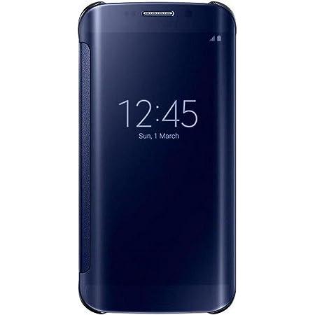 Samsung Clear View Etui pour Samsung Galaxy S6 Edge Noir