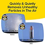 BulbHead Air Police Advanced Ionic Air Purifier, Compact Odor Eliminator Plug in Air Purifier with Permanent Stainless… 16 ATTRACTS & TRAPS: Warning the air in your home looks clean to the naked eye, but may be contaminated with inanimate microscopic particles — until now! Air Police attracts and collects unhealthy particles from the air! For fresher, cleaner air guaranteed! POWERFUL & PORTABLE PLUG-IN AIR PURIFIER: Air Police plugs right into your wall outlet so you can easily move it room to room while it takes up very little space! WORKS 27/7: unlike air freshener sprays that just mask odors, Air Police neutralizes the air your breath 24 hours, 2 days a week. Just plug it in and it goes to work!