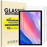 XunyLyee [2 Piezas] Protector de Pantalla Compatible Con Teclast P20HD/ TECLAST M40, 2.5D Cristal Templado Film para Teclast P20HD/ TECLAST M40 10.1 Pulgadas