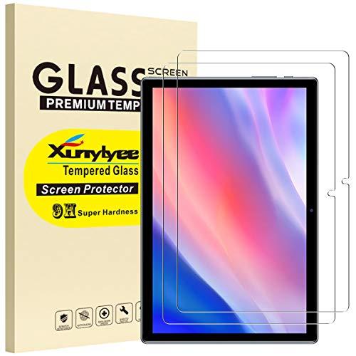 XunyLyee [2 Piezas] Compatible Con Teclast P20HD Protector de Pantalla, 2.5D Vidrio Templado Glass Film Protector de Pantalla para Teclast P20HD (10.1')
