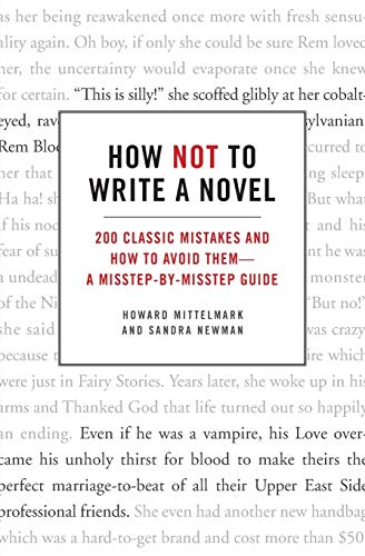 Cover of How Not to Write a Novel by Howard Mittelmark and Sandra Newman