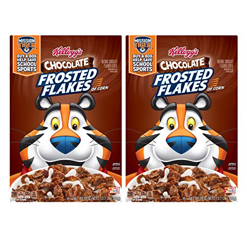 Kellogg's Chocolate Frosted Flakes 13.7 ounce (pack of 2)