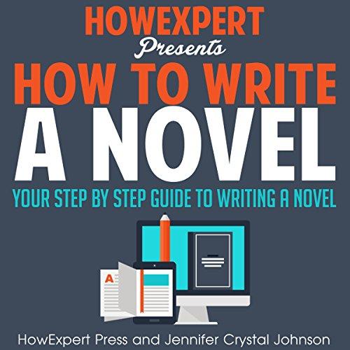 How to Write a Novel audiobook cover art