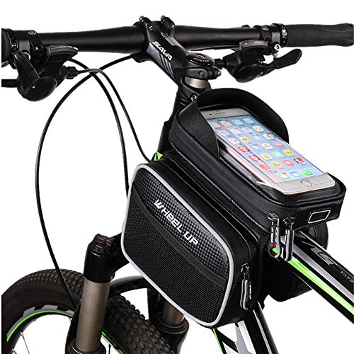 Bolsa Sillin Bici Bolsas para Bicicletas Soporte de teléfono de Bicicleta Impermeable Ciclismo Accesorios Accesorios de Bicicleta Bicicleta Bolso
