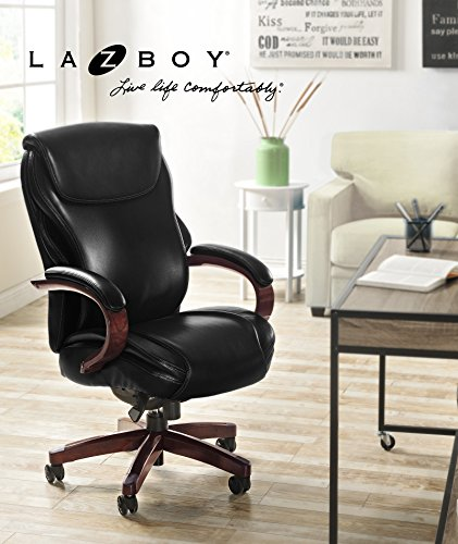 La Z Boy  Hyland Chair Air Technology Office, Executive, Black