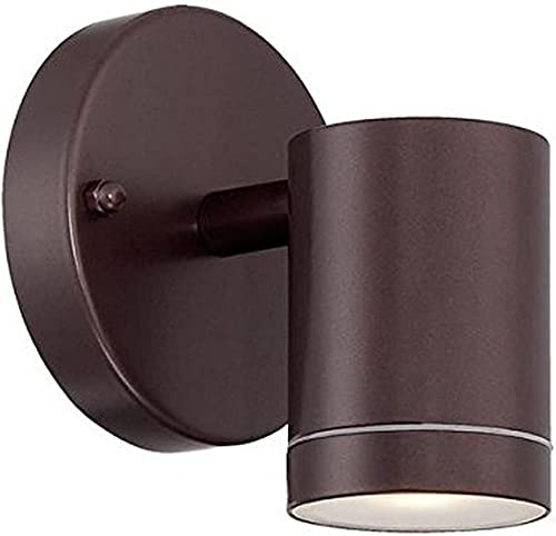 lowest Acclaim sale 1401ABZ LED Wall Sconces lowest Collection 1-Light Wall Mount Outdoor Light Fixture, Architectural Bronze online