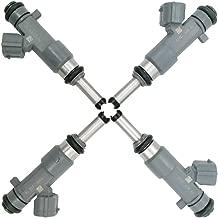 Automotive-leader 4pcs/set 16600-EA00A Fuel Injectors 12 Holes for 2005-2015 Nissan Frontier X-Trail 2.5L L4 FJ744 16600EA00A