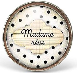 """Anello cabochon nuvola""""madame rêve"""" - Regalo di Natale per idea regalo moglie - San Valentino- regalo di compleanno - arge..."""
