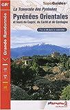 Pyr. Orientales GR10/GR36 Merens-les-Vas-Bourg-Madame: Ffr.1092 (TopoGuides GR)